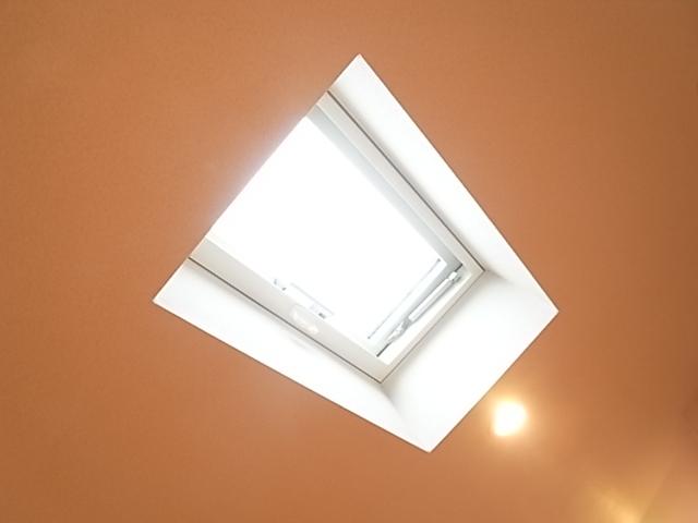 2階の洋室にはトップライトあり!