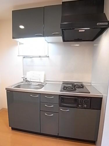 お料理にも適したシステムキッチン!