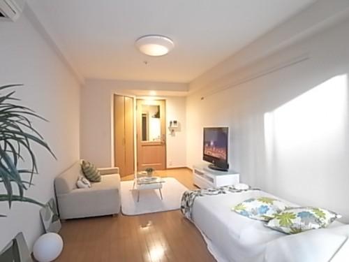 これだけ広さがあれば理想の家具でお部屋作りが出来ます!(家具・備品は付属しておりません)
