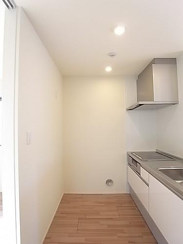 背面スペースに余裕のあるキッチン!