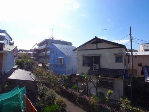 南の眺望。日中はとても日当たりが良いです!