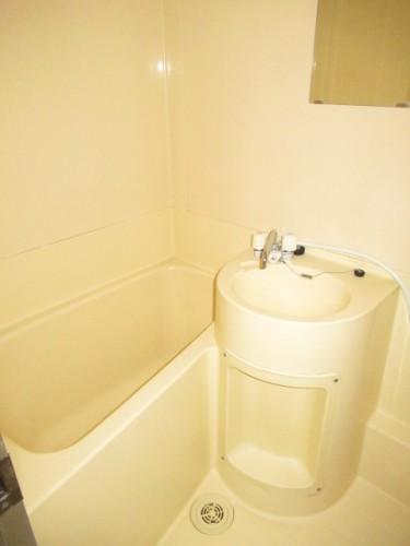 ユニットタイプの浴室☆