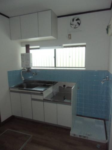 キッチン&室内洗濯機置場