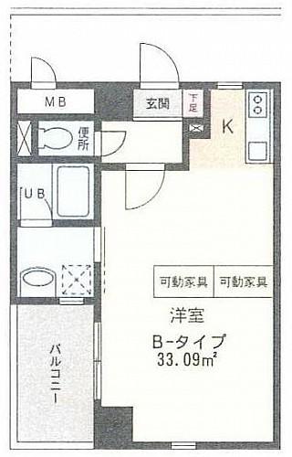 グランドピアノC3も余裕で置けるスペース!12.0帖の洋室。両隣のお部屋と接しない完全独立角部屋。