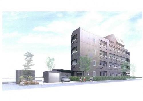 横浜赤レンガ倉庫リニューアル事業に携わった設計士が手がけた、お洒落な外観フォルム。