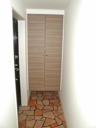 お洒落な玄関は、大型シューズボックス付です