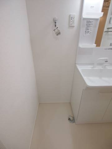 洗濯機置き場もしっかりありますね