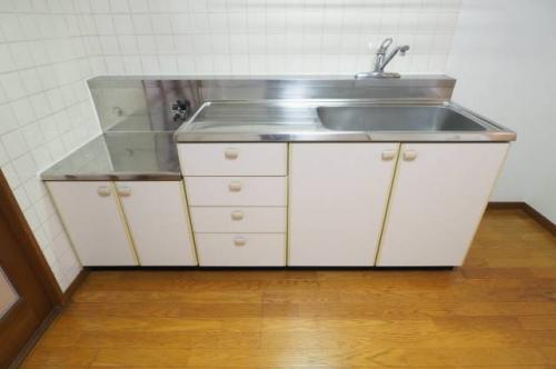 キッチンも十分な広さです。