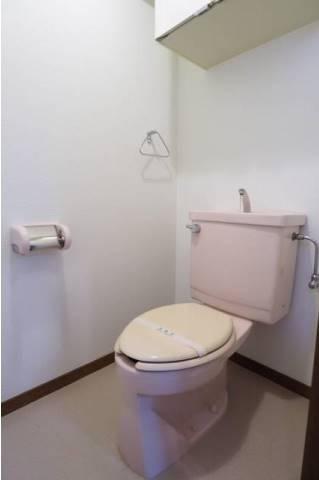 トイレもゆったり。