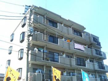 重厚感あるマンションタイプの建物