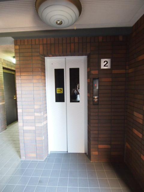 エレベーター完備で上階でも安心。
