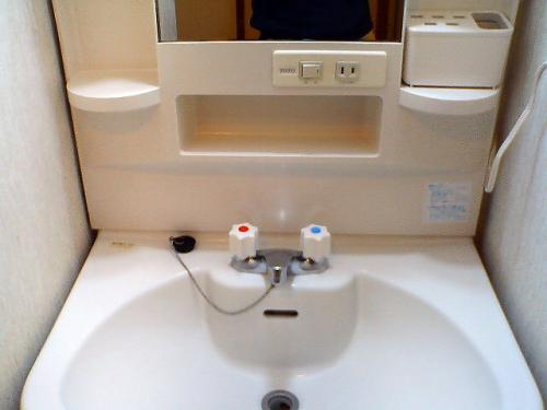独立洗面台は重宝します。