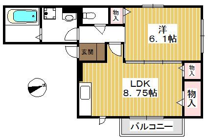 各居室収納付きのお部屋