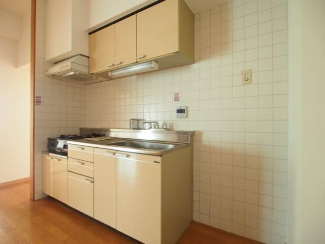 キッチンも使いやすい広さです。
