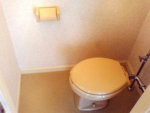 トイレとお風呂が別なので女性も安心ですね。