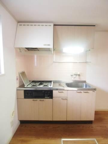 キッチンは使いやすいガスコンロ
