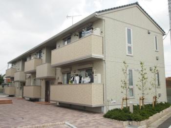 2012年築のキレイな建物です。