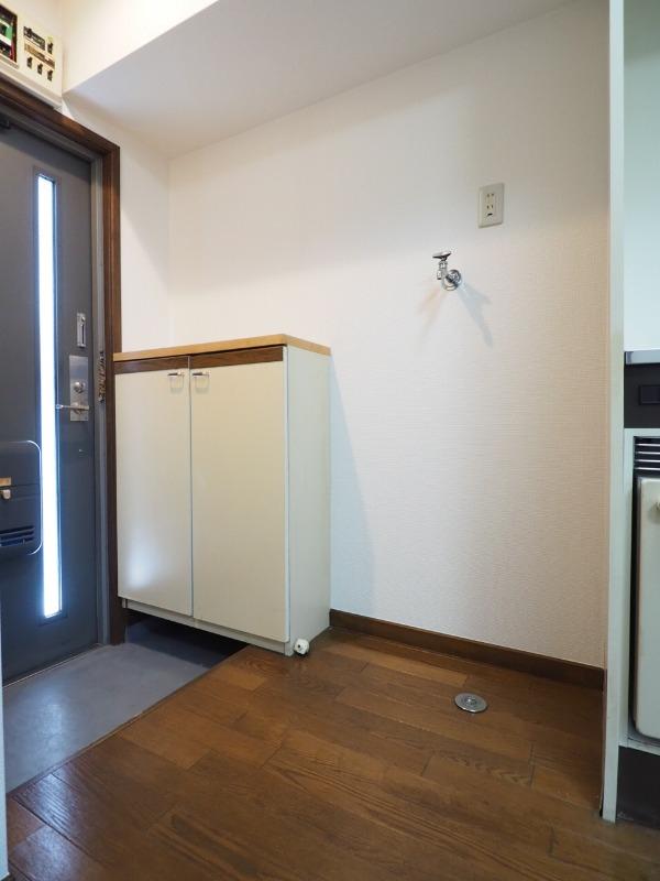 玄関ドアも重厚感があります。別部屋の写真です。
