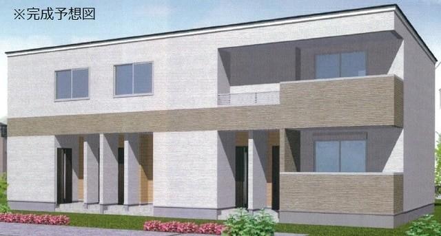 新築物件のイメージ図になります。