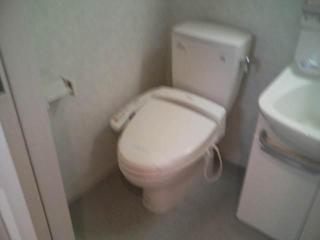 トイレもきれいな空間です。