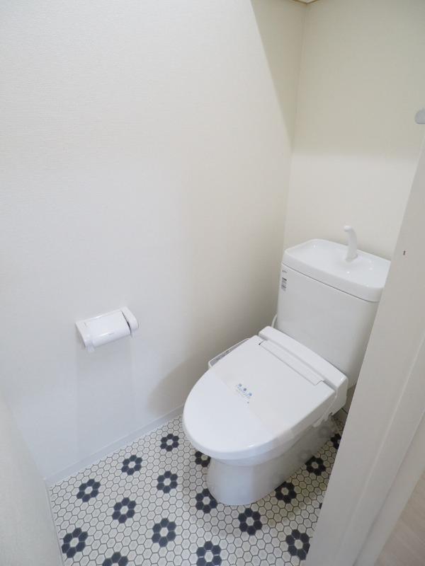 トイレもきれいですよ。