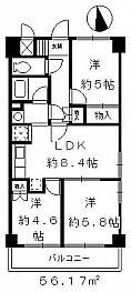 LDKと洋室をつなげて14帖のLDKも可能。