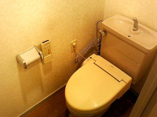 落ち着く空間のトイレ