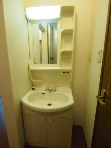 独立洗面台は人気の設備です。