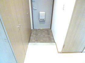 洗濯機置き場は防水パン付き。