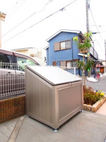 ゴミも敷地内で出す事ができます。