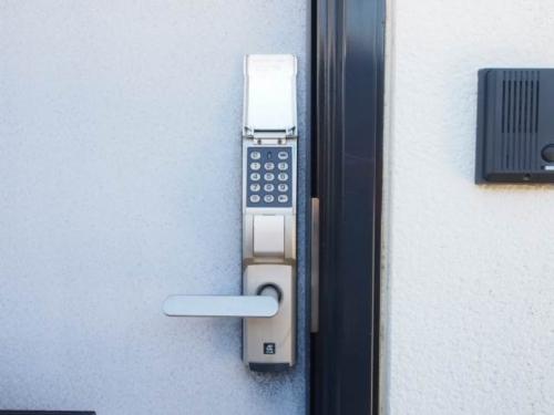 電子ロックキーでセキュリティ面も安心
