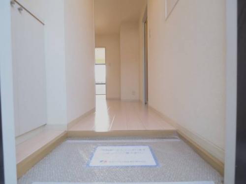 出入りしやすい玄関が嬉しいですね。