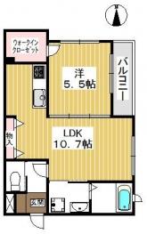 使いやすい間取り。収納も豊富なお部屋です。