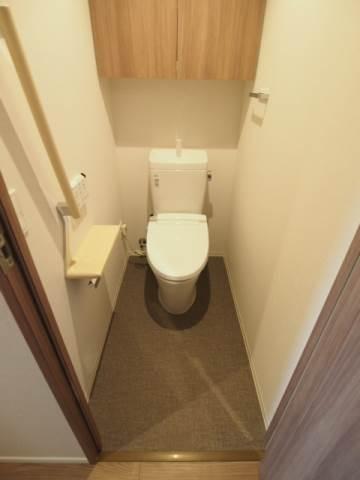 トイレも多機能で嬉しい。