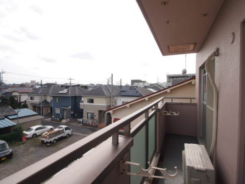 3階からの眺めです。