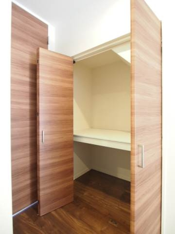 全室に収納があるのでお部屋もすっきり使えます。