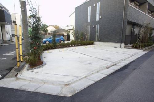 駐車場も敷地内にあります。