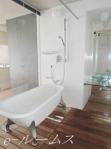 バスルーム(ブラインドにて隠すこともできます)