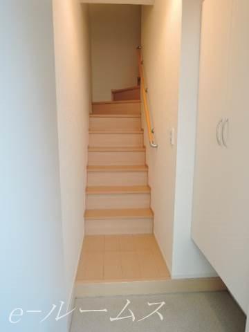 1F玄関~階段