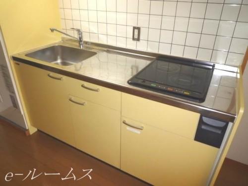 IH2口コンロシステムキッチン