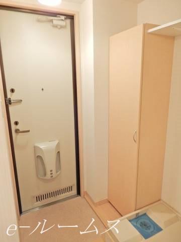 玄関・室内洗濯機置き場(同物件他部屋参照写真)