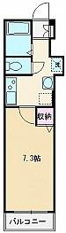 2号室(21.07㎡)