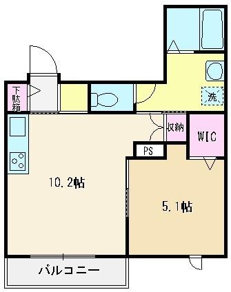 1号室(39.13㎡)