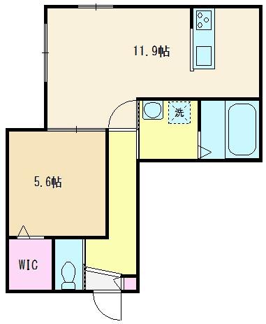 201・301号室(45.03㎡)