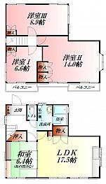 ★専用庭・テラス付き 戸建賃貸4LDK★