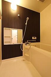 浴室も一部リニューアル