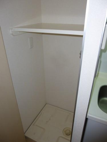 室内洗濯機置き場 参考写真