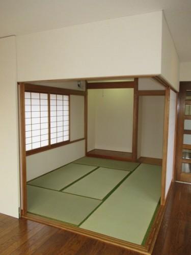 3階 リビング横和室