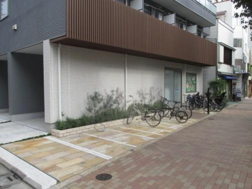 駐輪場、バイク置き場