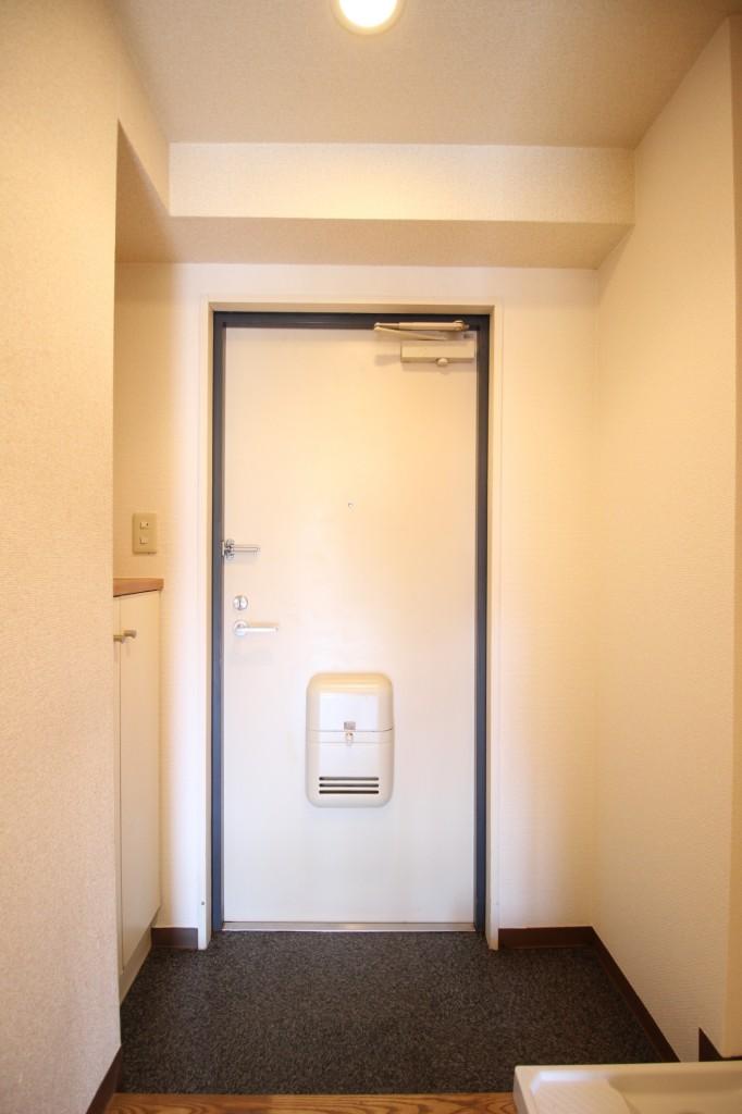 シューズボックス付き玄関